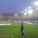 Flutlicht in der Benteler-Arena.