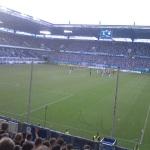 Blick ins Stadion des MSV Duisburg.