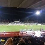 Veregnetes Spiel zwischen den Dortmunder Amateuren und dem Chemnitzer FC.