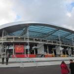 Blick auf die ehemalige Heimstätte des Le Mans FC