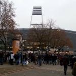 Weserstadion vor dem Spiel