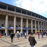 Olympiastadion in Berlin von außen