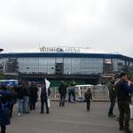 Veltins Arena von außen