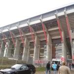 Fritz-Walter-Stadion von außen