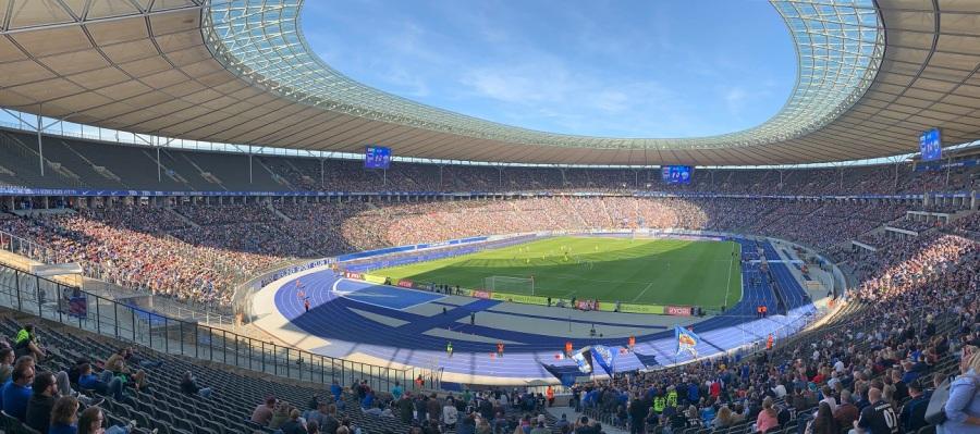 Panoramablick Olympiastadion