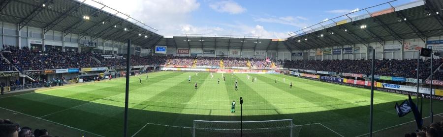 Panorama-Blick in der Benteler-Arena
